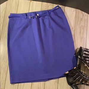 APT 9 Modern Fit purple skirt. Size 14. NWOT